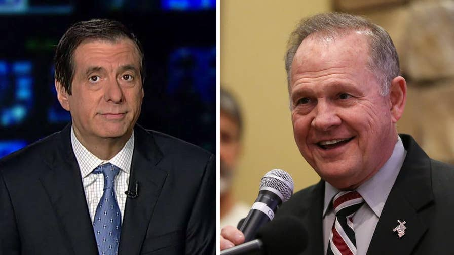 'MediaBuzz' host Howard Kurtz weighs in on why Trump and Republican leaders are now backing Roy Moore.