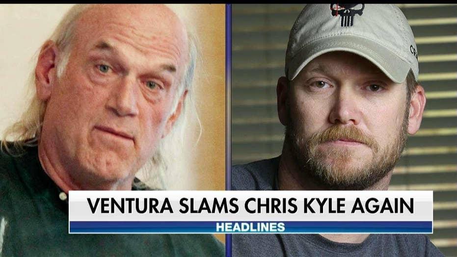 Jesse Ventura Slams 'American Liar' Chris Kyle After Settling Lawsuit