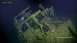 A team manning a deep sea research vessel says it has found and captured the first underwater images of a sunken U.S. Navy ship credited with firing America's opening shots of World War II.