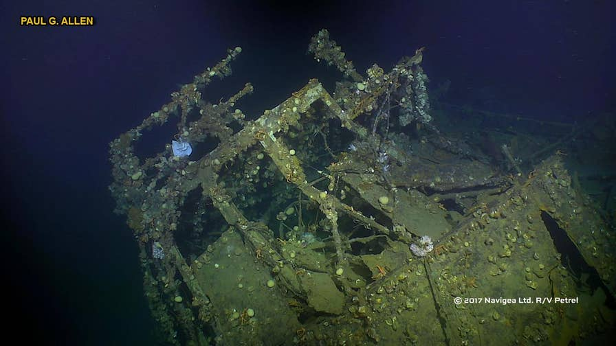A deep sea research vessel says it has found and captured the first underwater images of the USS Ward, a ship credited with firing America's opening shots of World War II.