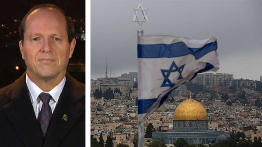 Jerusalem's mayor Nir Barkat reacts on 'Your World' after President Trump recognizes Jerusalem as Israel's capital.