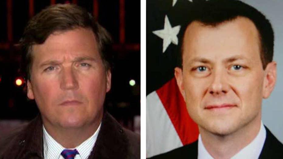 Tucker: Why Peter Strzok's political views matter