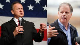 Democrat Doug Jones holds a 10-point lead over Republican Roy Moore among likely voters in deep red Alabama.