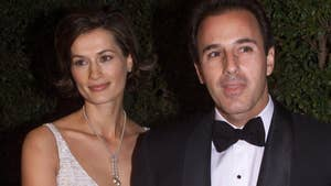 Fox411: Matt Lauer's wife Annette Roque has been spotted without her wedding ring in the Hamptons, this amid reports that the couple are still living together despite rumors of divorce.