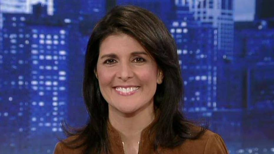 Nikki Haley on the decision to move US embassy to Jerusalem