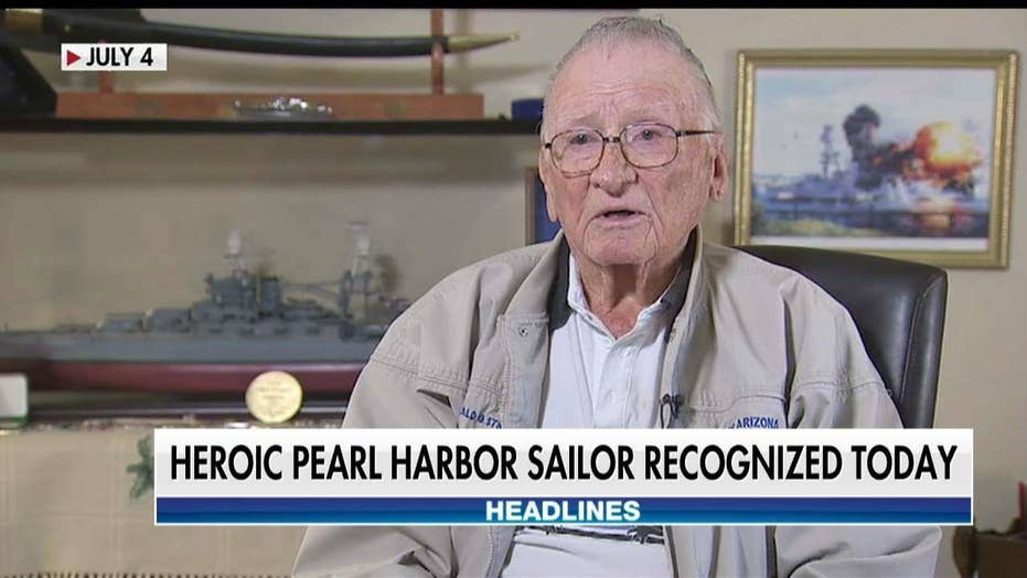 Heroic Pearl Harbor sailor honored with Bronze Star