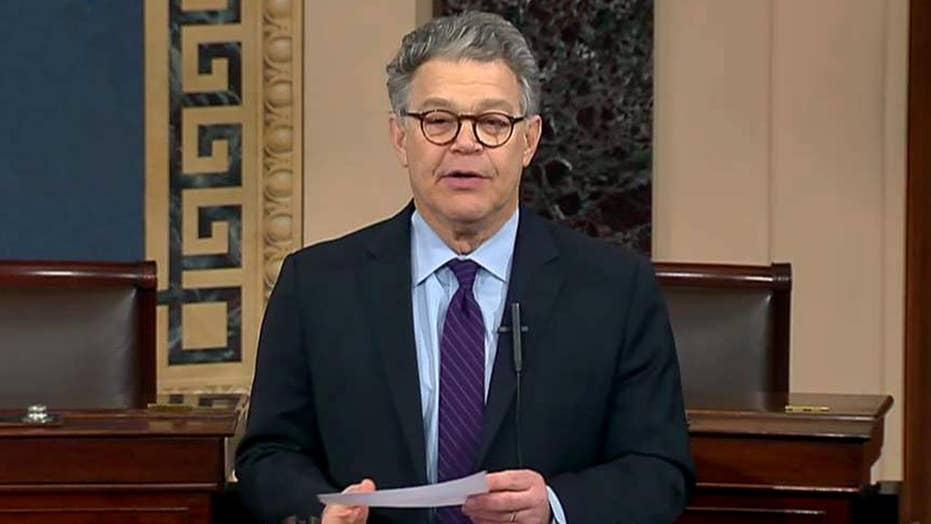 Al Franken announces he will resign from US Senate