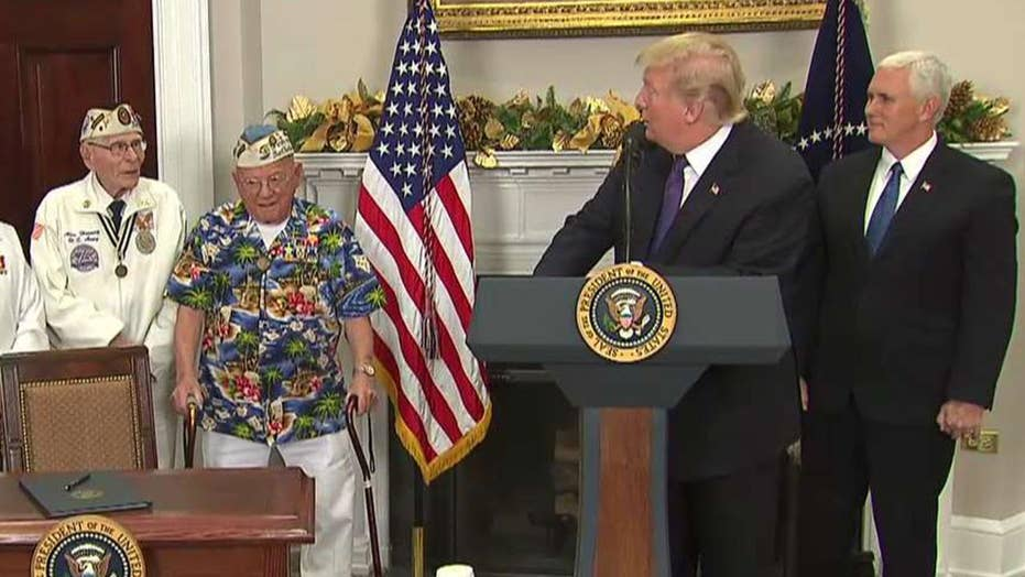Trump: Nation pauses to remember Pearl Harbor