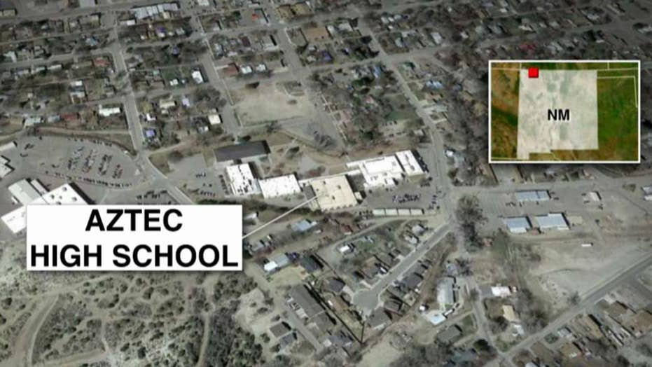 Police: 2 students shot, killed at high school in New Mexico
