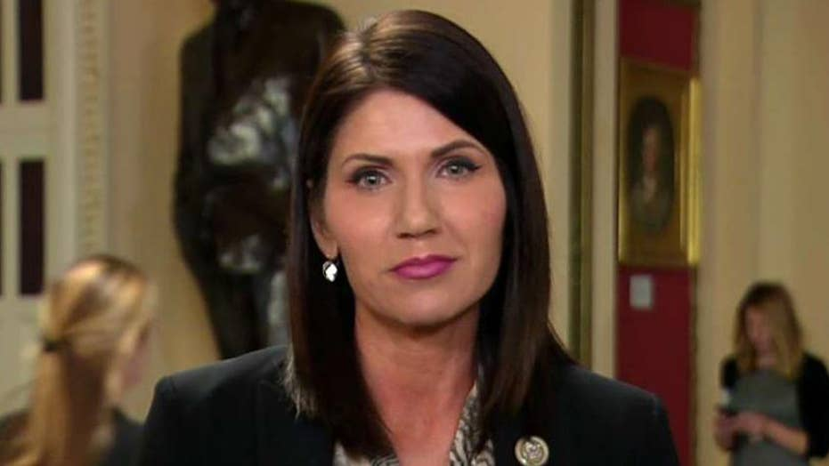 Rep. Noem on tax bill: We need growth as soon as possible