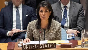 U.S. ambassador to the United Nations speaks at a special Security Council session on Jerusalem.