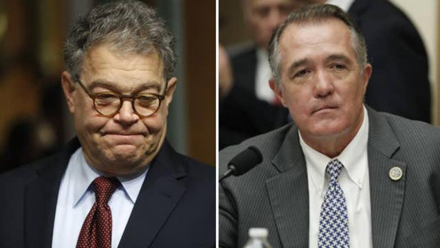 Franken and Franks are resigning from Congress