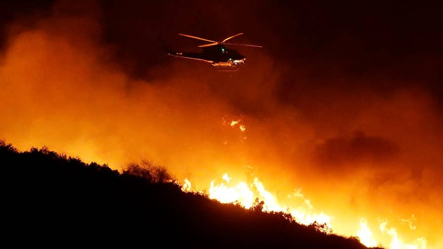 On 'America's Newsroom,' U.S. Forest Service Director of Fire and Aviation Management Robert Baird speaks out on the challenges being presented by the winds.