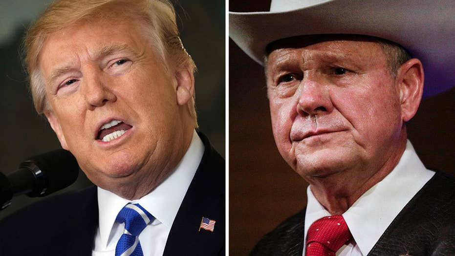 Roy Moore looks for Trump bump from Florida rally