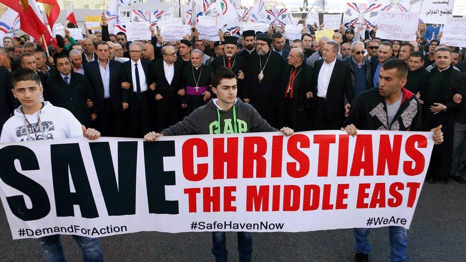 New bill looks to bring aid to persecuted Christians