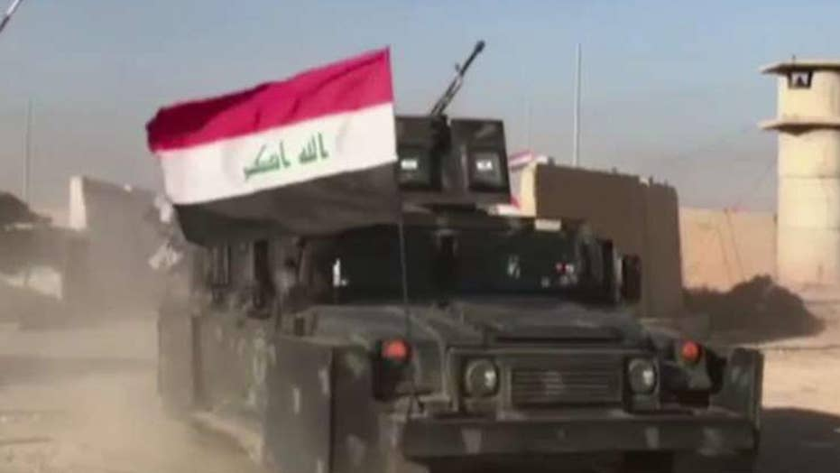 Iraq declares victory over ISIS