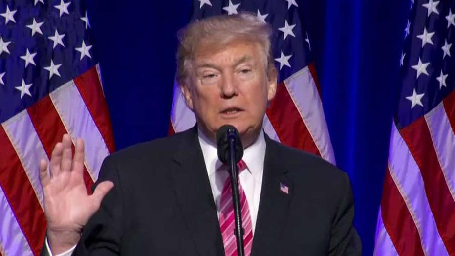 President Trump speaks at civil rights museum opening