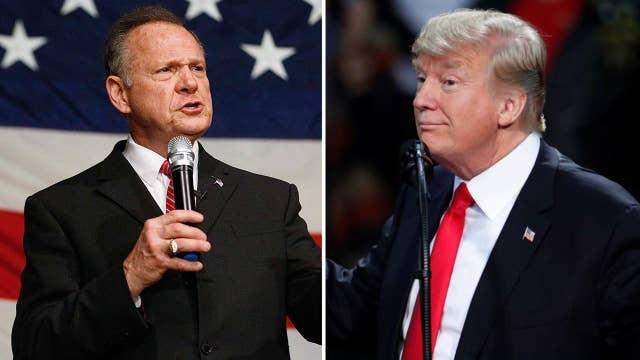 Trump under attack over Moore