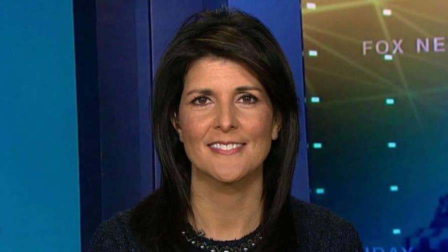 U.S. ambassador to the United Nations discusses President Trump's decision to recognize Jerusalem as the capital of Israel.