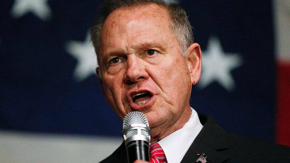 What kind of welcome would Roy Moore receive in Washington?
