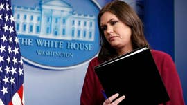 White House Press Secretary Sarah Sanders shut down CNN's Senior White House Correspondent Jim Acosta on Monday when the liberal reporter tried to highjack a press briefing during a conversation about fake news.