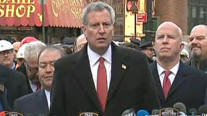 Bill de Blasio speaks at press conference on Port Authority investigation, says there are no known threats against New York City.