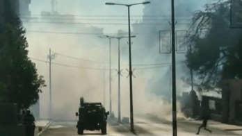 David Lee Miller reports on violent demonstrations in the region.