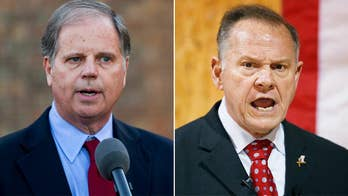 Democrat holds lead over Republican among likely voters in Alabama Senate race.