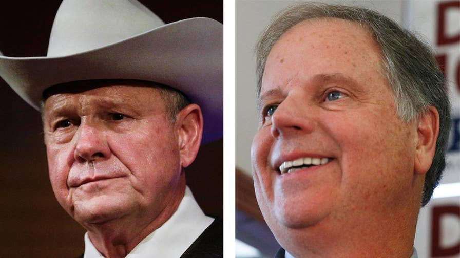 A new Fox News poll shows 39 percent of likely voters believe the allegations against Moore; Jonathan Serrie has more for 'Special Report.'