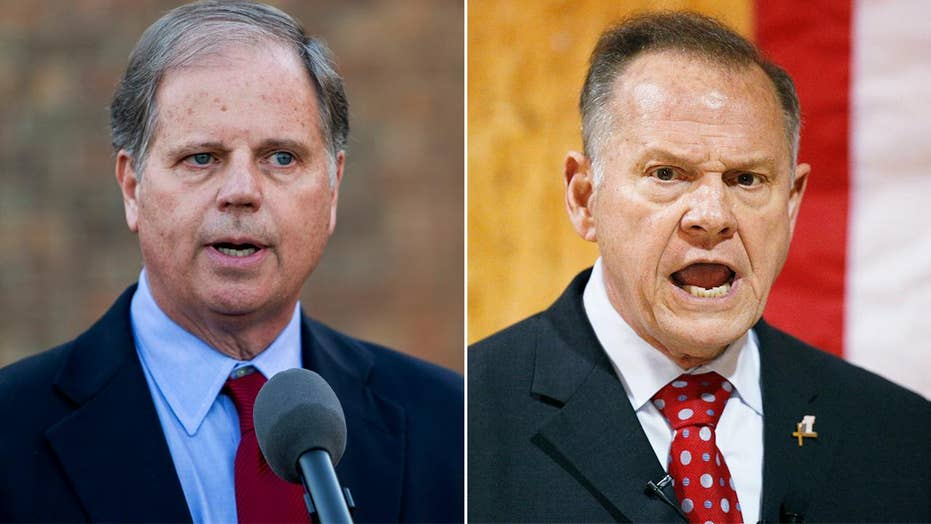 Fox News Poll: Jones leads Moore by 10 points in Alabama
