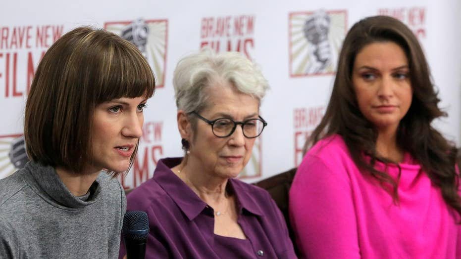 3 women accusing Trump of sexual harassment hold presser