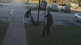 Surveillance footage showed Jean Pedro Pierre kicking, punching and dragging Deputy Sean Youngward before he was fatally shot.