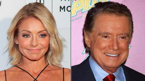 Kelly Ripa reveals Regis Philbin's 'no talking' rules