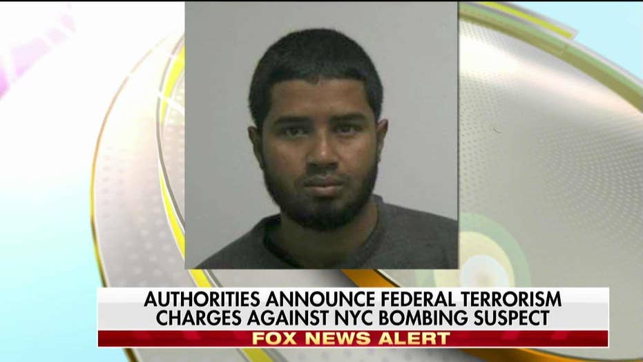 Authorities Announce Federal Terrorism Charges Against NYC Bombing Suspect
