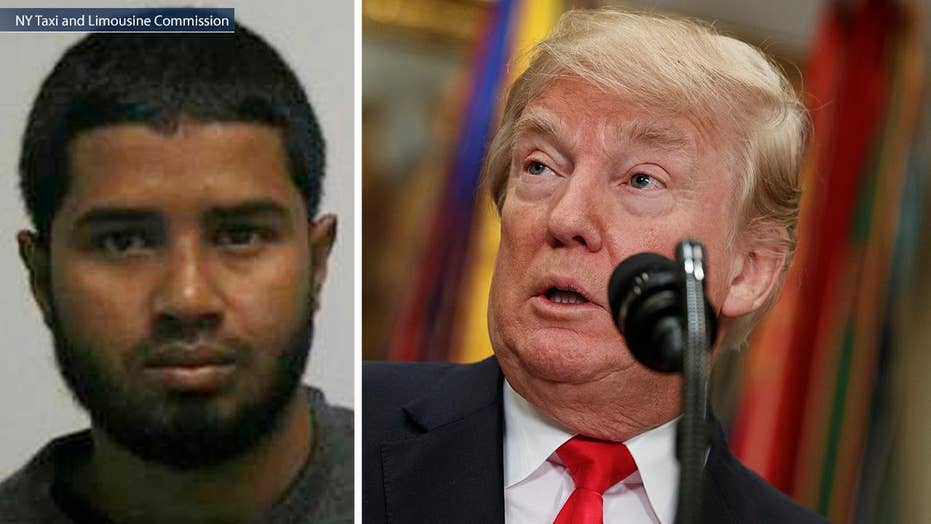 NYC suspect called out Trump in Facebook post before bombing