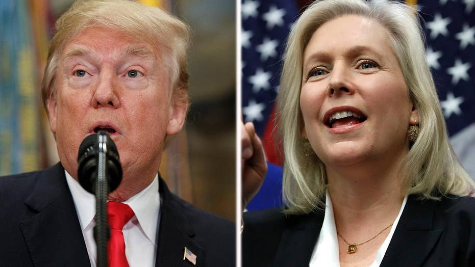 White House looks to move past Trump-Gillibrand feud