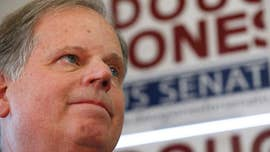 Several celebrities reacted to the news of Democratic Alabama Senate candidate Doug Jones defeating Republican Roy Moore in a special election Tuesday night.