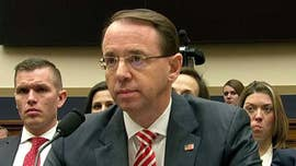 "Deputy Attorney General Rod Rosenstein stood by Special Counsel Robert Mueller's Russia probe Wednesday, despite a newly unearthed trove of damning text messages and other details that Republicans said show an ""insider bias"" on the investigative team."