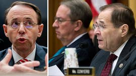 Deputy Attorney General Rod Rosenstein and Special Counsel Robert Mueller were told in July that two FBI officials working on Mueller's Russia probe had exchanged a number of anti-Trump text messages throughout the 2016 campaign, according to the Justice Department's watchdog.