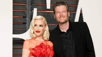 Gwen Stefani and Blake Shelton showcase their love in romantic Christmas music video