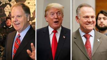 Deputy White House press secretary Hogan Gidley says that in a binary choice between Republican Roy Moore and Democrat Doug Jones, President Trump supported the candidate that would back his agenda.