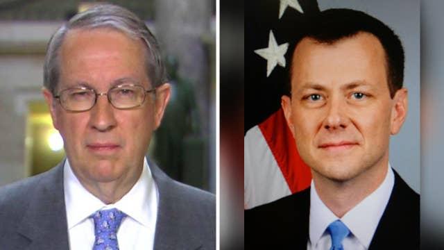 Goodlatte: Strzok texts show 'strong bias' in Clinton probe