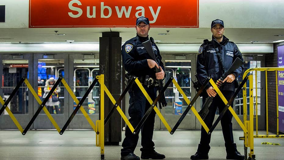 Federal charges for suspect in botched subway terror attack