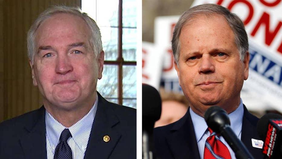 Sen. Strange: Hopefully Jones will work with Republicans
