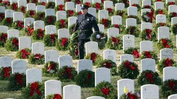 Every grave at Arlington National Cemetery will be covered.