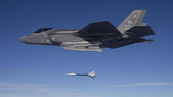 Fox Firepower: Allison Barrie shares insight into the GBU-49 Paveway II bombs and how they will give the F-35 fighter jets the ability to hit moving targets with extreme precision.