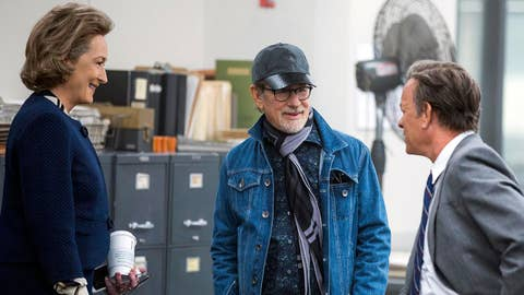 Steven Spielberg talks new film 'The Post'