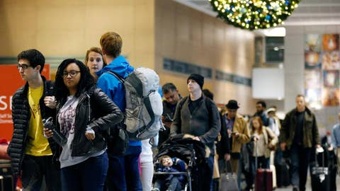 Expect loaded planes, trains, automobiles for the holidays