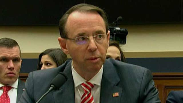 Deputy AG Rosenstein grilled by House Intel Committee