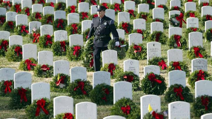 Wreaths Across America reaches goal with help of FNC viewers